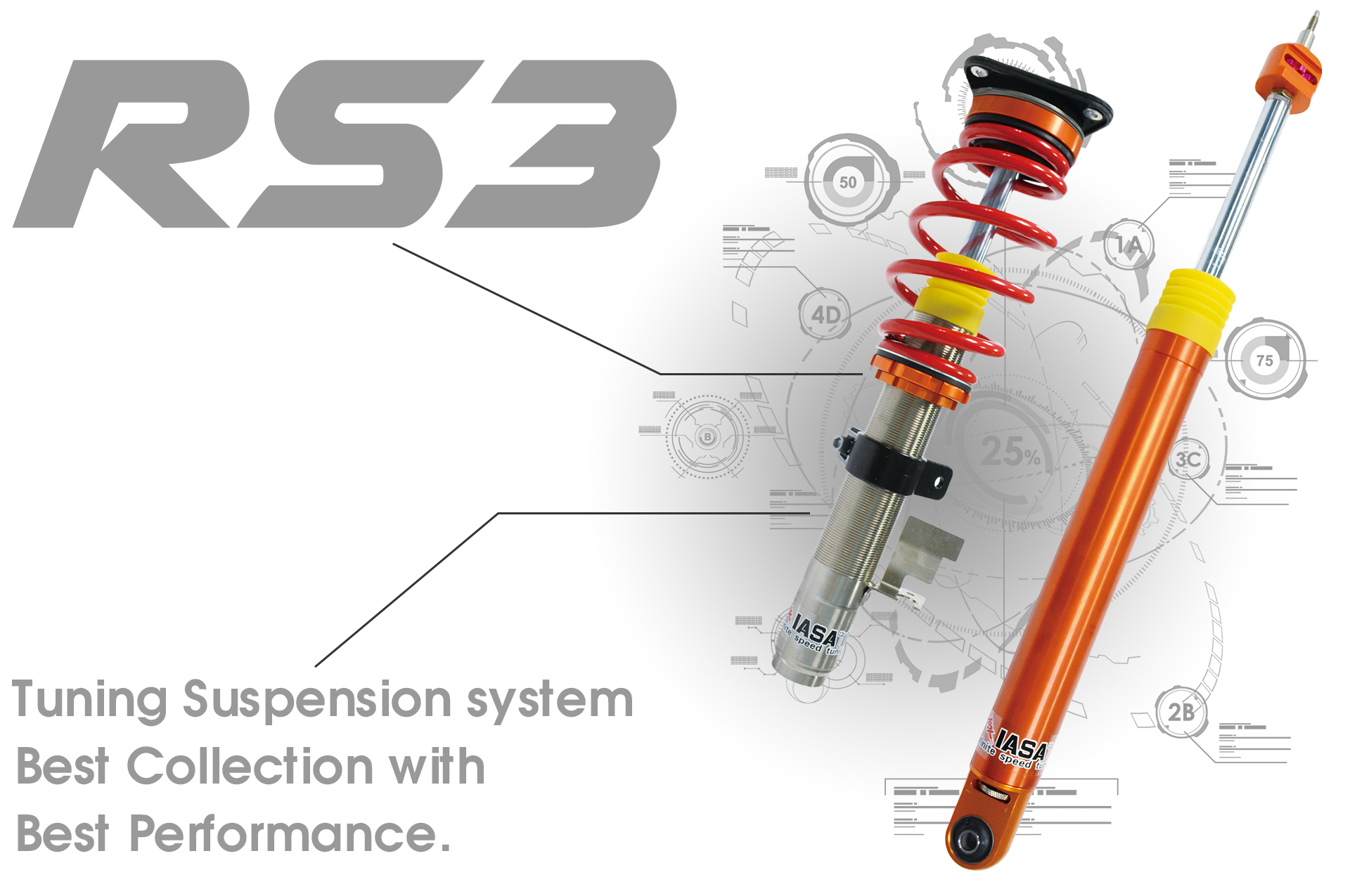 RS3 shock absorber
