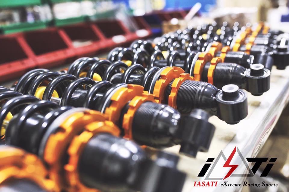 IASATI - 改裝車用避震器、剎車卡鉗 專業製造商-暢稜威